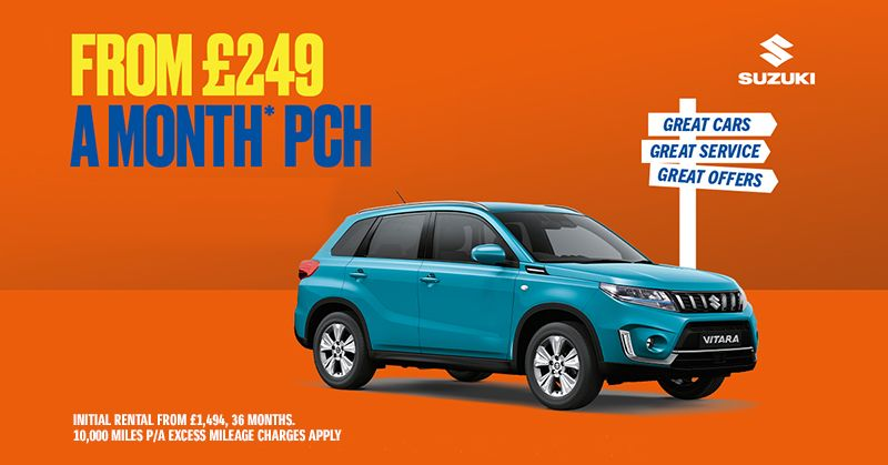 Suzuki Vitara from only £249/month